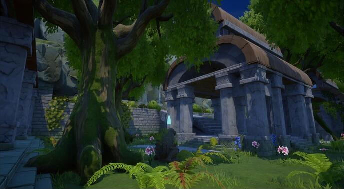 Manticorian Feature Screenshot 3 Left Courtyard