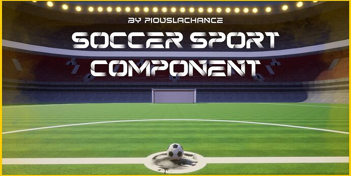 soccer sport component