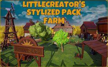 Stylized packfarm