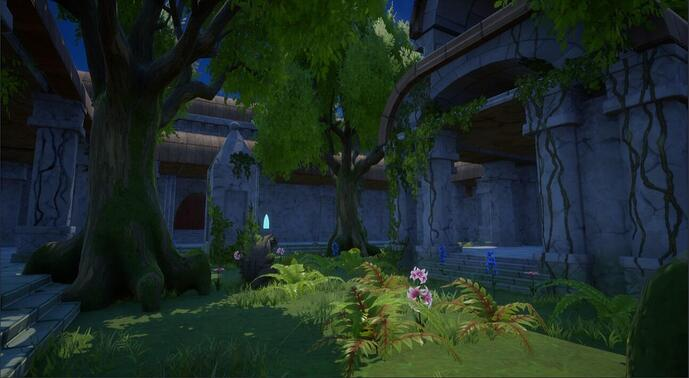 Manticorian Feature Screenshot 4 Right Courtyard