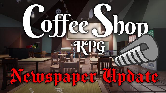 CoffeeShopBackgroundNewspaperUpdate