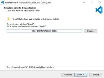 visual studio code installazione 2