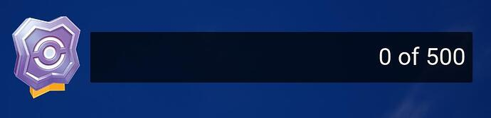 UI Reward Points Meter