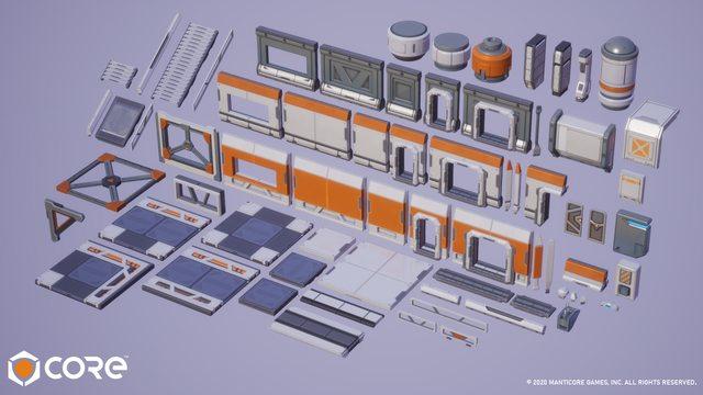 Sci-fi Base Kit